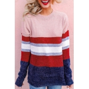 Lovely Striped Multicolor Sweater