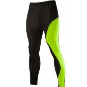 Lovely Sportswear Patchwork Green Pants