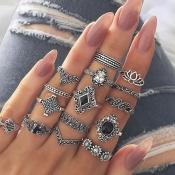 Lovely Chic Sliver Alloy Ring