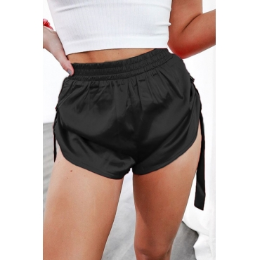 Lovely Sportswear Narrow Goods Black Shorts