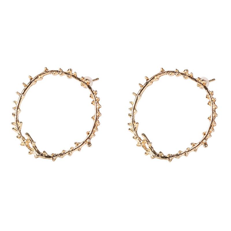 Lovely Trendy Gold Alloy Earring
