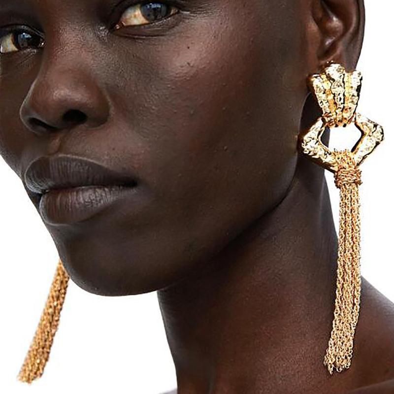 Lovely Sweet Gold Alloy Earring