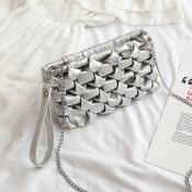 Lovely Chic Sliver Crossbody Bag