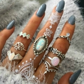 Lovely Fashion Hollow-out Sliver Alloy Ring
