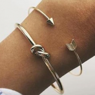 Lovely Casual Gold Alloy Bracelet