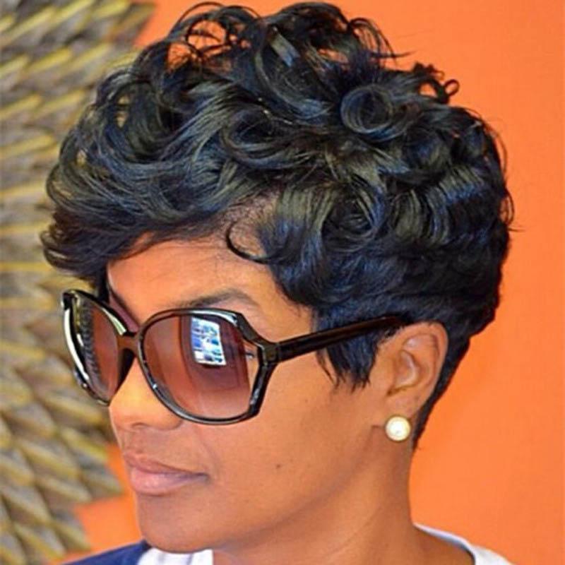 Lovely Trendy Black Wigs