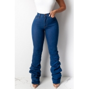Lovely Leisure Heap Blue Jeans