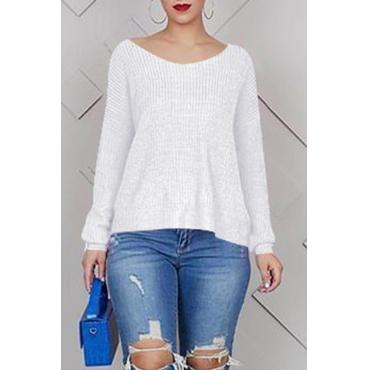Lovely Work Cross-over Design White T-shirt