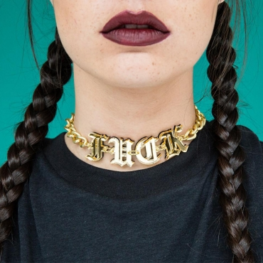 Lovely Trendy Gold Necklace