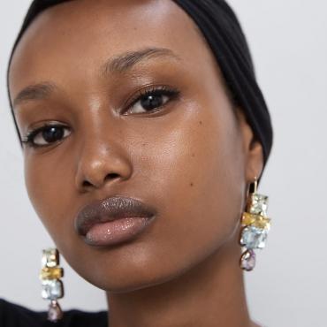 Lovely Chic Gold Alloy Earring