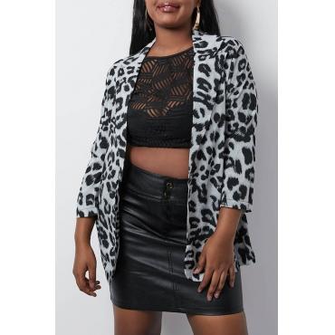 Lovely Stylish Printed Black Blazer