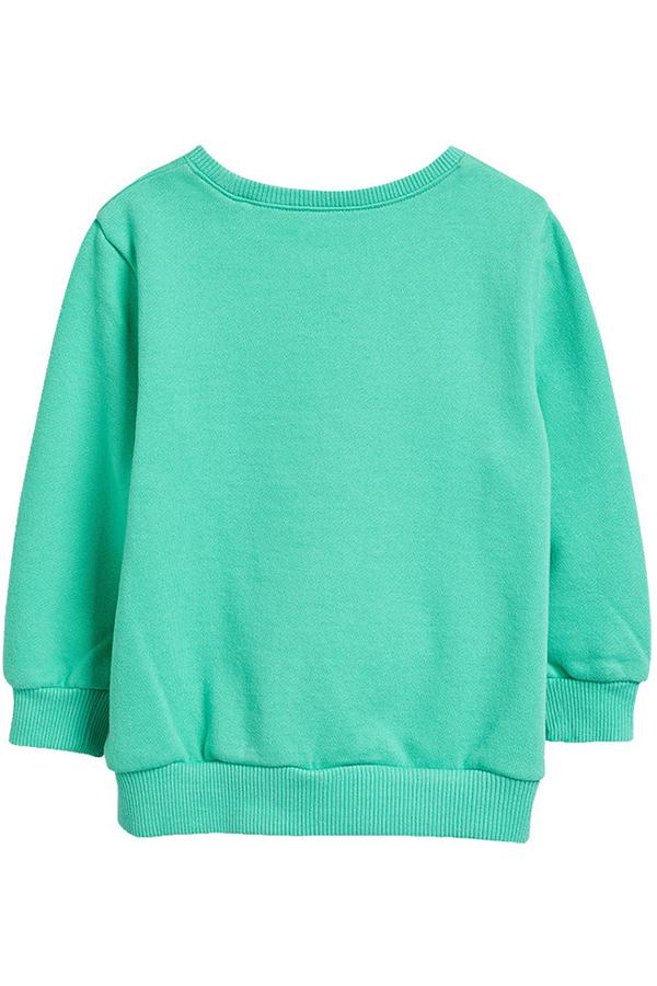 Lovely Casual Green Girls Sweatshirt Hoodie