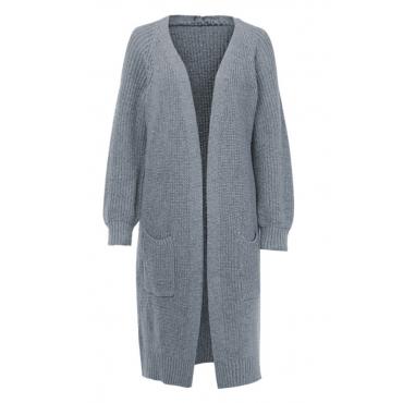 Lovely Trendy Loose Grey Cardigan
