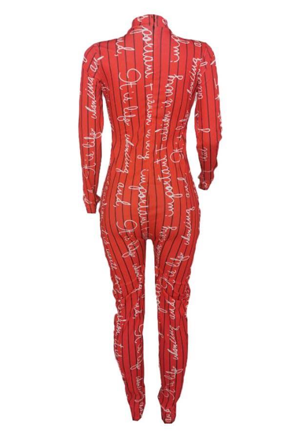 Lovely Chic Skinny Red One-piece Jumpsuit
