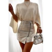 Lovely Sweet Basic Creamy White Sweater
