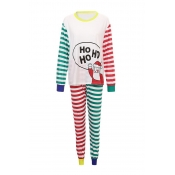 Lovely Family Striped Printed Multicolor Father Tw