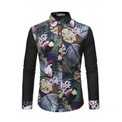 Lovely Bohemian Floral Printed Multicolor Shirt