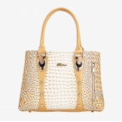 Lovely Trendy Patchwork Gold Crossbody Bag