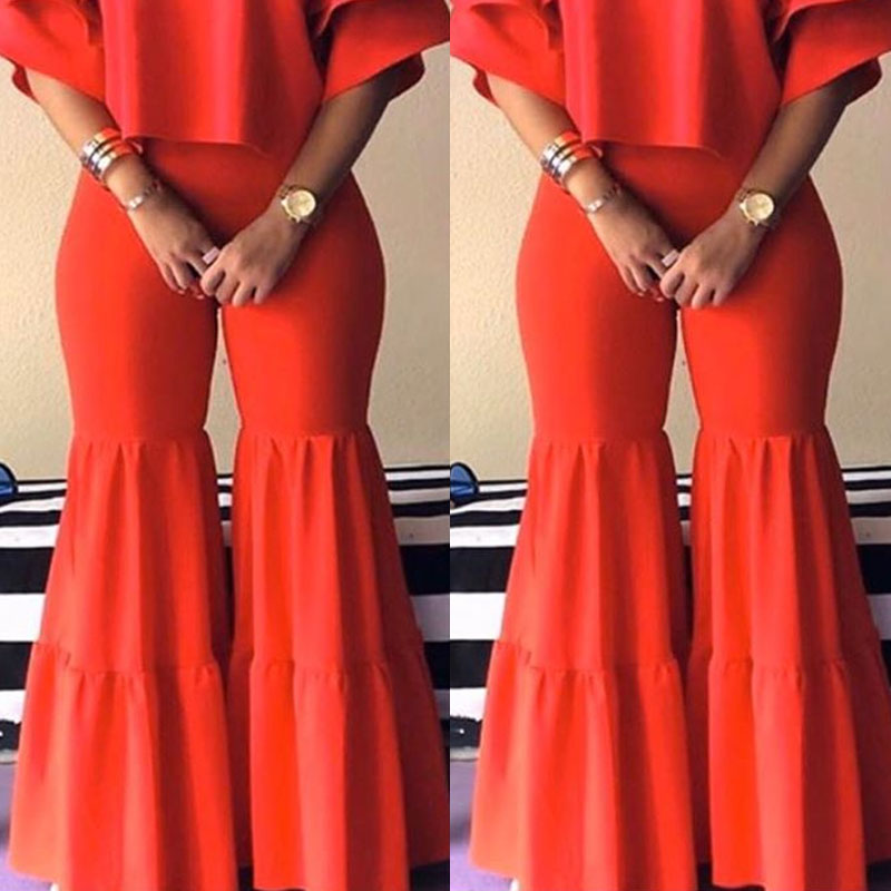 Lovely Casual Loose Red Pants