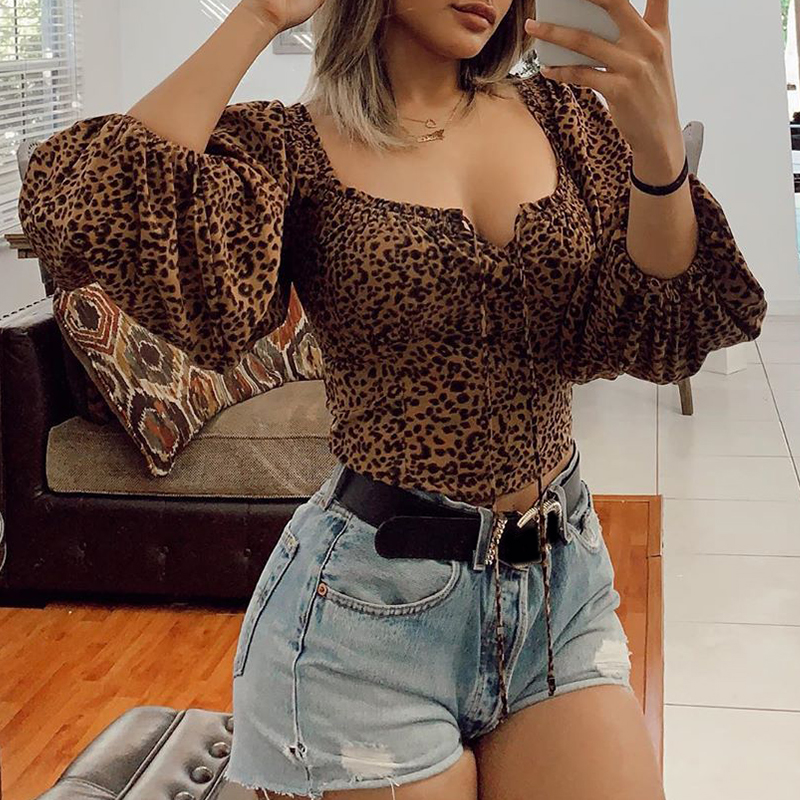 Lovely Casual Print Yellow Blouse