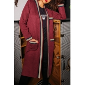 Lovely Work Patchwork Red Cardigan