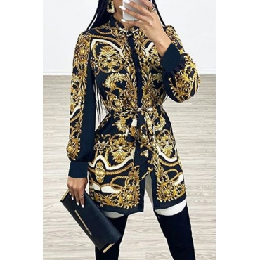 Lovely Casual Printed Multicolor Blouse