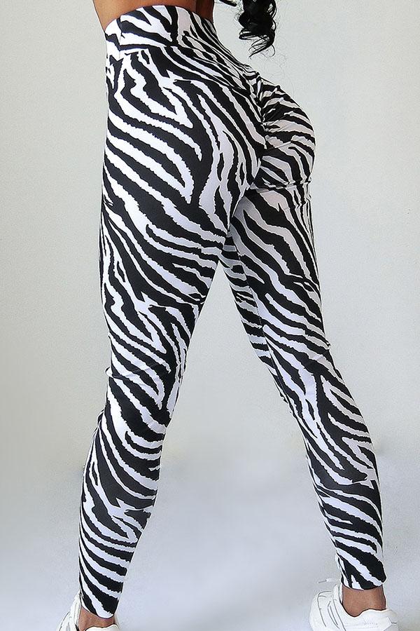 Lovely Chic Zebra Stripe Pants