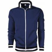 Lovely Sportswear Mandarin Collar Zipper Design Na