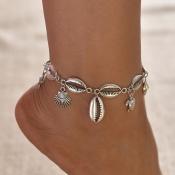 Lovely Trendy Silver Body Chain