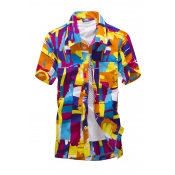 Lovely Casual Print Croci Shirt