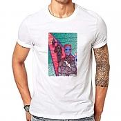 Lovely Chic Print White T-shirt