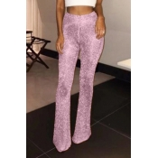 Lovely Casual Loose Pink  Pants