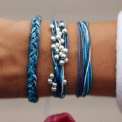 Lovely Bohemian Blue Bracelet