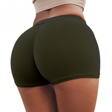 Lovely Sexy Basic Army Green Panties