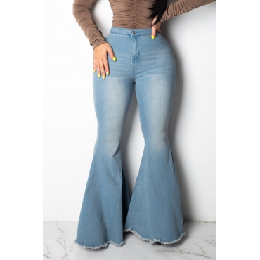 Lovely Casual Trousers Blue Jeans