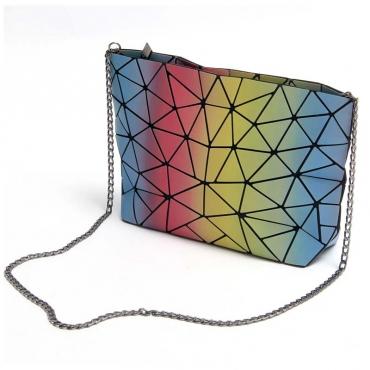 Lovely Chic Multicolor Crossbody Bag