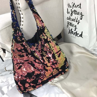 Lovely Casual Patchwork Multicolor Crossbody Bag