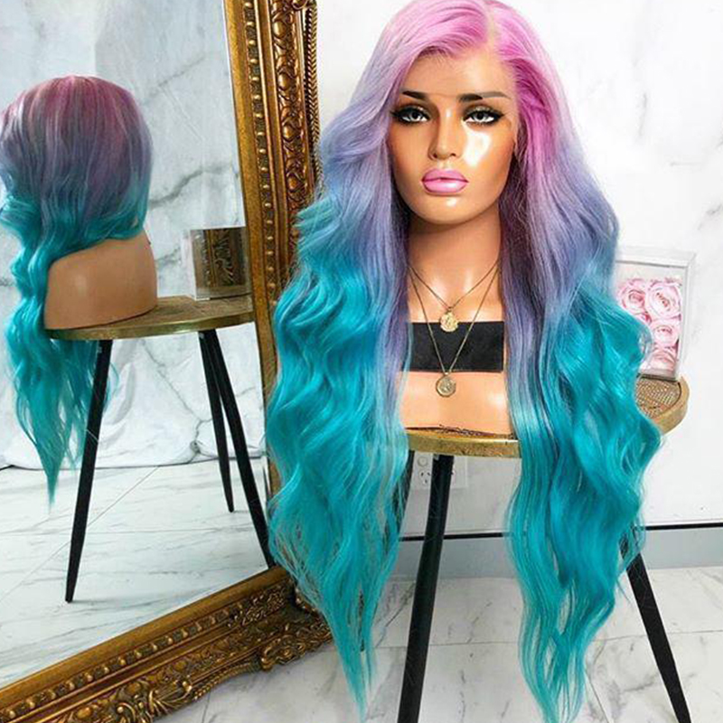 Lovely Chic Long Blue Wigs