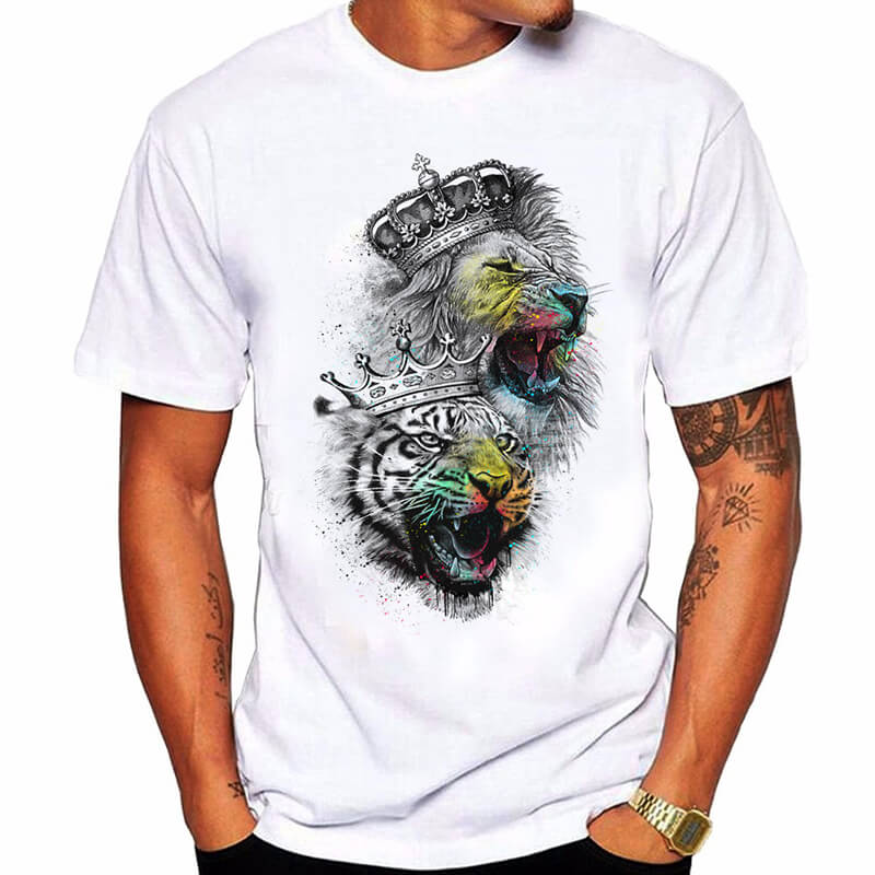 Lovely Casual Print Multicolor T-shirt