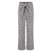 Lovely Casual Knot Design Multicolor Pants