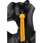 Lovely Vintage Basic Yellow Earring