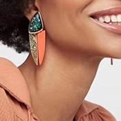 Lovely Vintage Basic Green Earring