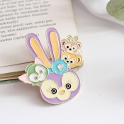 Lovely Sweet Cartoon Purple Hairpin