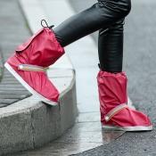 Lovely Trendy Couple EVA Environmental Red Rain Bo