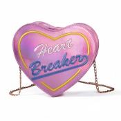 Lovely Sweet Chain Strap Pink Crossbody Bag