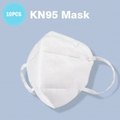 Lovely 10Pcs Disposable 3 Layers Dustproof Facial
