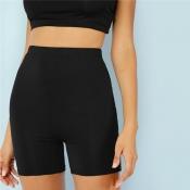 Lovely Sexy Basic Skinny Black Panties