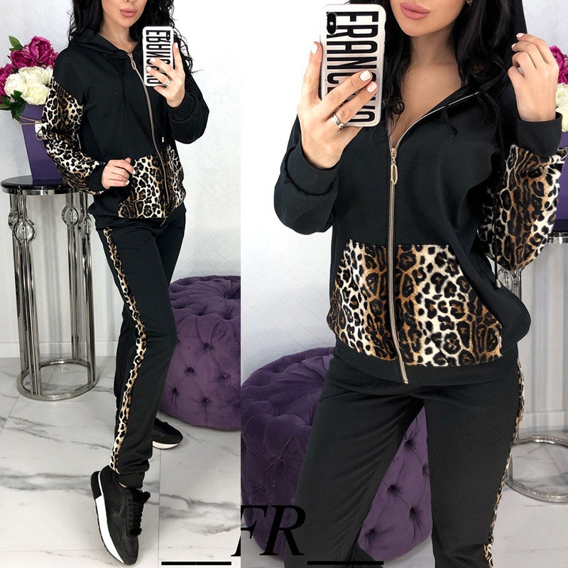 Lovely Trendy Patchwork Black Loungewear