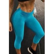 Lovely Sportswear Basic Skinny Baby Blue Pants