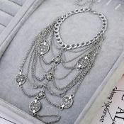 Lovely Stylish Silver Body Chain